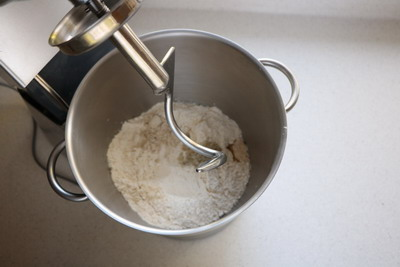 kneading with dough hook