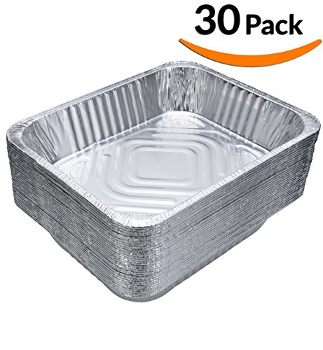 DOBI (30-Pack) Chafing Pans - Disposable Aluminum ...