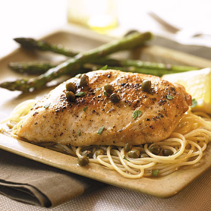 Chicken with Lemon-Caper Sauce Recipe