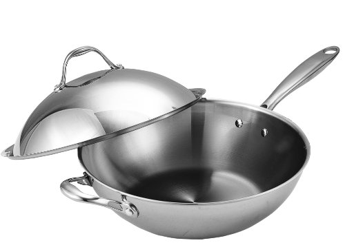 Cooks Standard 13-Inch Multi-Ply Clad Stainless St...