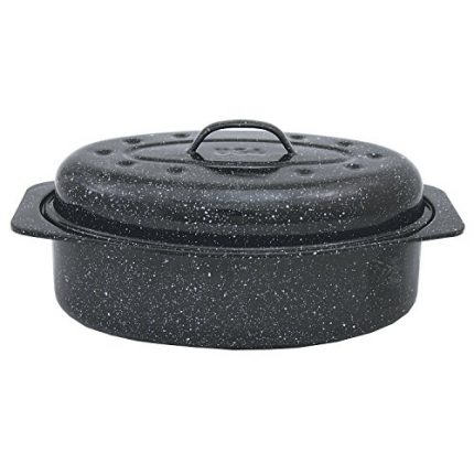 Granite Ware 6106-2 Covered Oval Roaster