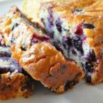 Lightened Up Lemon Blueberry Bread