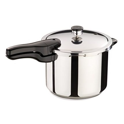 Presto 01362 6-Quart Stainless Steel Pressure Cook...