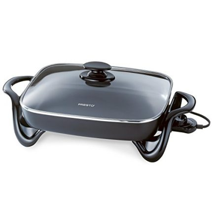 Presto 06852 16-Inch Electric Skillet with Glass C...
