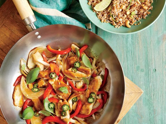 Thai Basil Chicken Stir-Fry