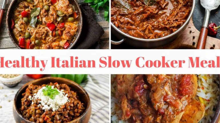 Healthy Italian Slow Cooker Recipes