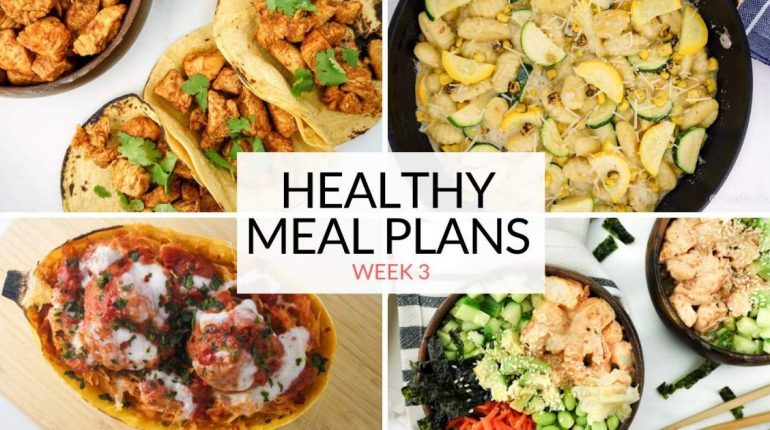 Healthy Meal Plans: Week 3 and Last Days for 25% O...