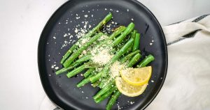 Parmesan Green Beans - Slender Kitchen