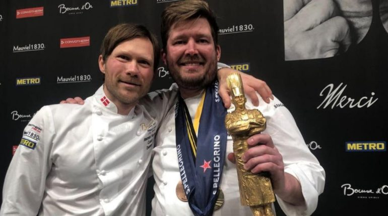 The Bocuse d'Or Winner for 2019 is Denmark and Ken...