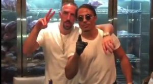Franck RIbery in hot water after visit to Sat Bae ...