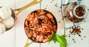 Slow Cooker Chicken Cacciatore with Mushrooms
